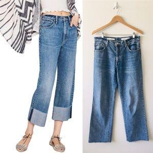 "⚡️Anthro Pilcro Ultra High Rise 11"" Folio Jeans"